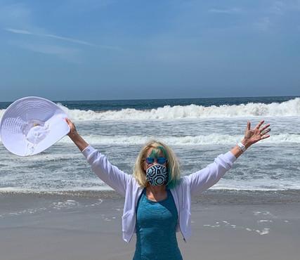 Back on the Beach: Mask Mandatory