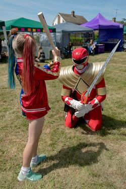 Harley Quinn vs Red Ranger