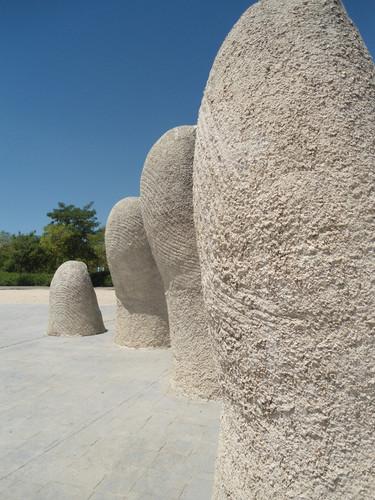 Fingers, Parque Juan Carlos I, Madrid, Spain