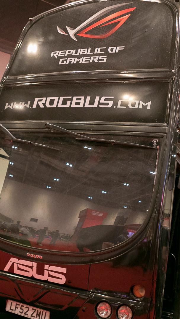 Republic of Gamers bus (ROGbus)