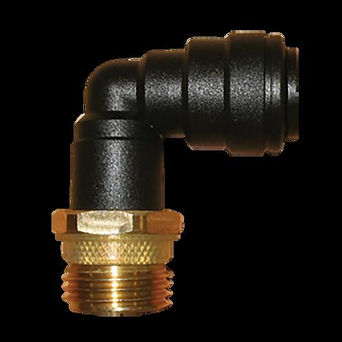 JG 12 mm Elbow Brass Adapter