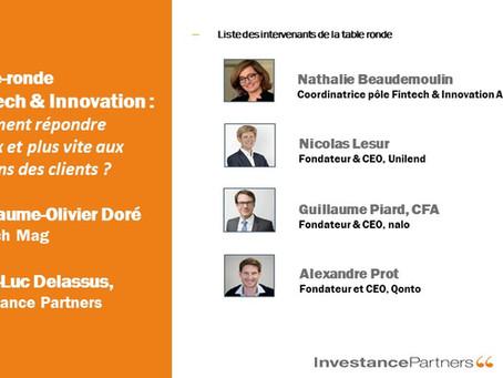 Fintech et Innovation : Comment répondre mieux et plus vite aux besoins des clients ?