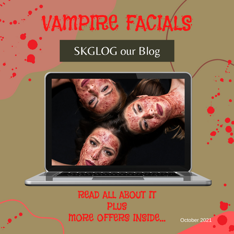 GHOULISHLY GOOD! All you need to know about PRP and Micro-needling - Plus some great offers!