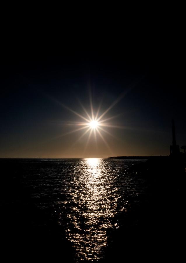 Soleil de nuit - La Rochelle