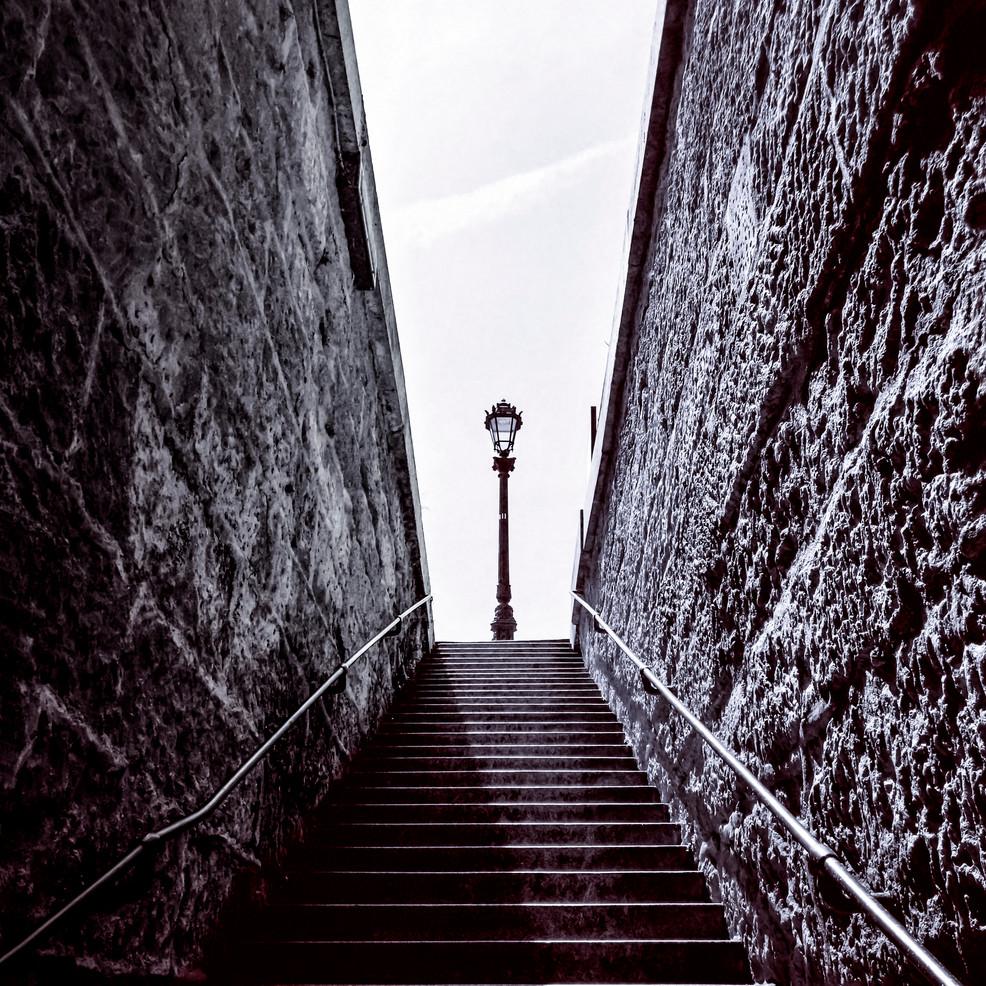 Escalier du Vert Galant - Paris 1
