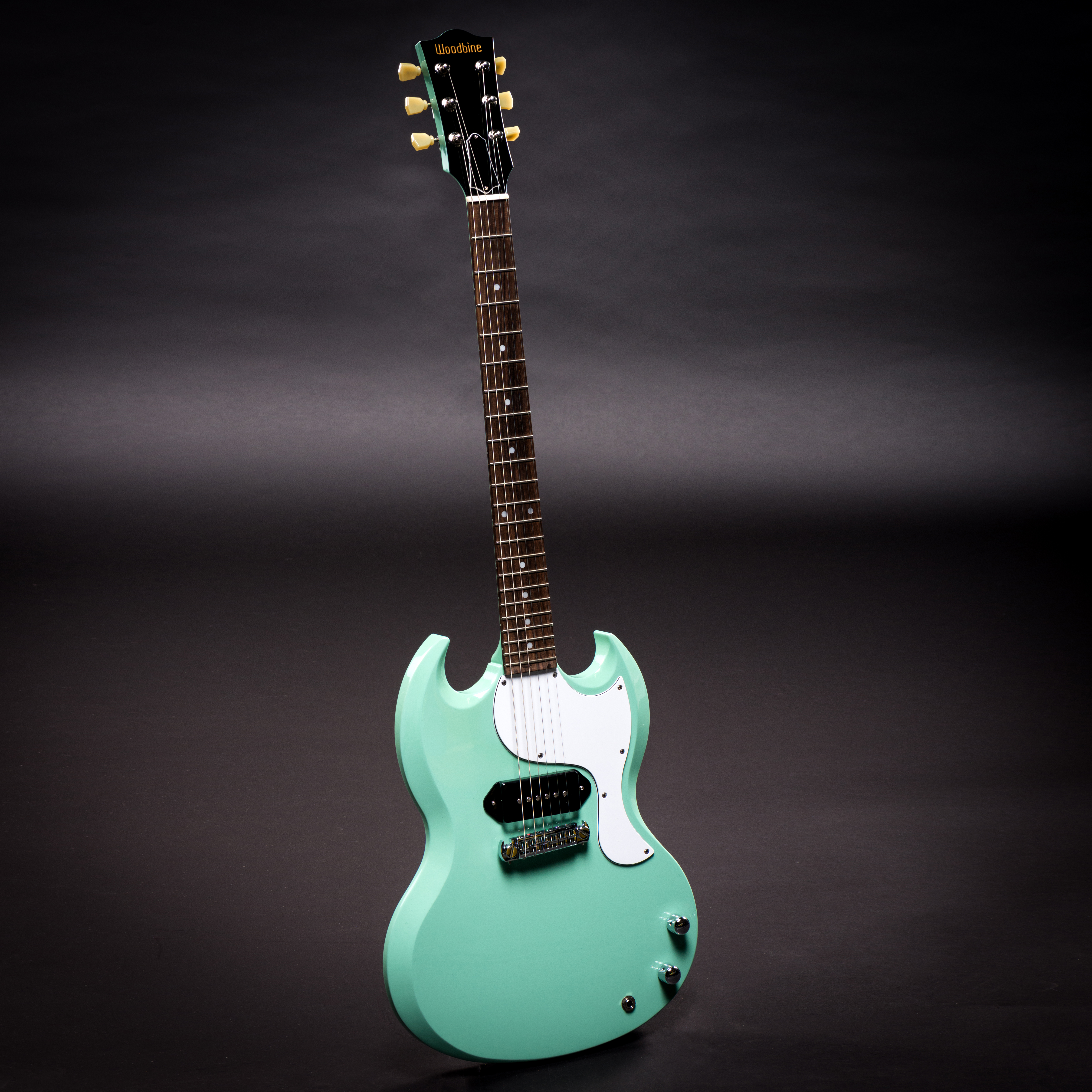 Surf Green Double Cutaway