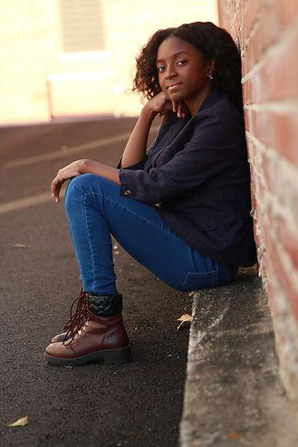 Chloe - Sitting on the Brick Wall (semi-