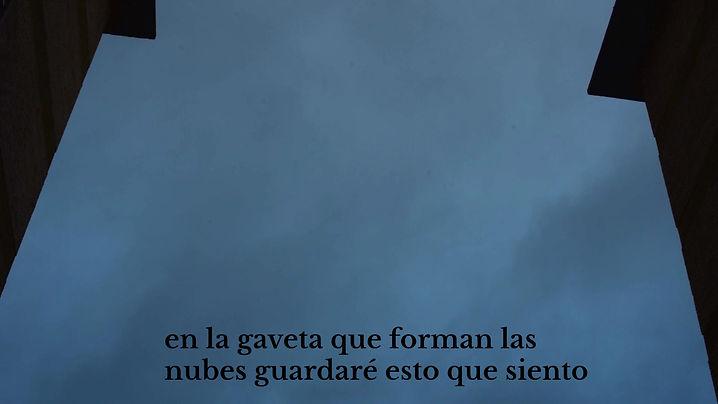 """Videopoema por Abraham Valera y Daniel Franco Sánchez. Poema: """"En la gaveta que forman las nubes guardaré esto que siento"""" por Abraham Valera"""