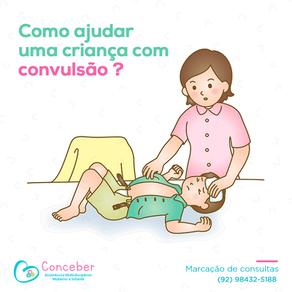 Como ajudar uma criança com convulsão ?