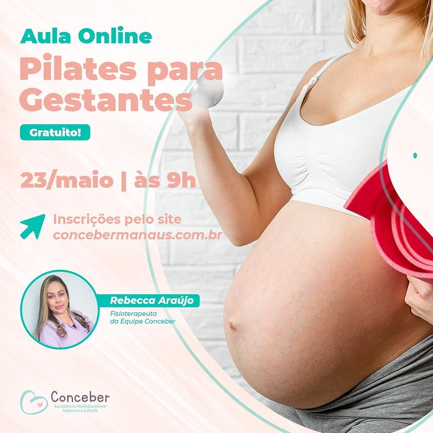 Pilates para gestantes - Aulão online