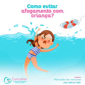 Como evitar afogamento com crianças?