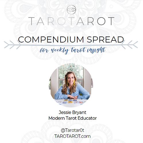 Compendium Daily Tarot Spread e-Course