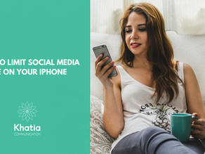 How to limit social media use on your iPhone