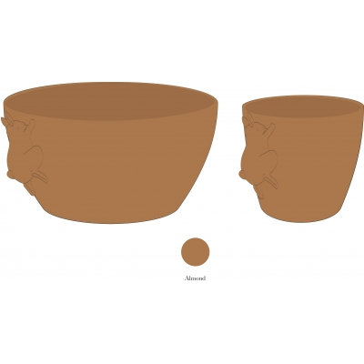 BUNNY BOWL AND CUP SET