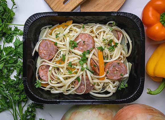 Linguini aux Saucisses