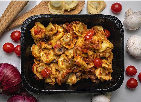 Tortellini au Pesto de Tomates Sêchées
