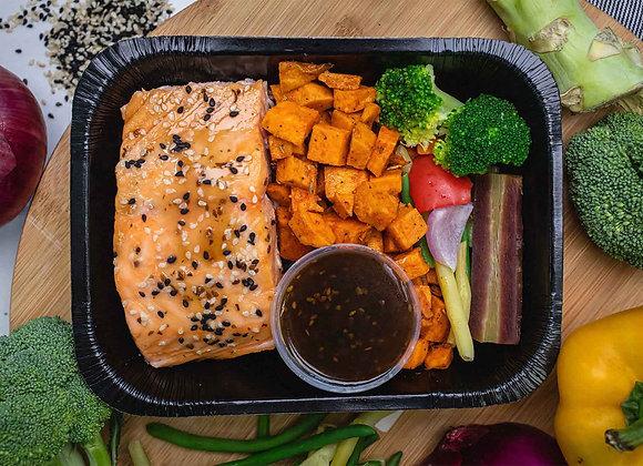 Filet de Saumon BBQ Coréen