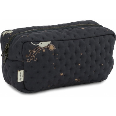 SMALL QUILTED TOILETTRY BAG