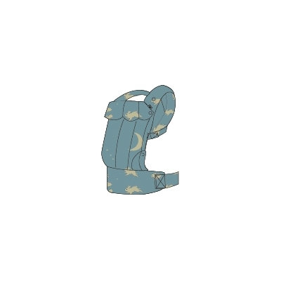 MINI BABY TOY CARRIER SWADDLE WOVEN