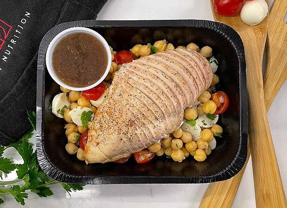 Salade méditéranéenne au poulet