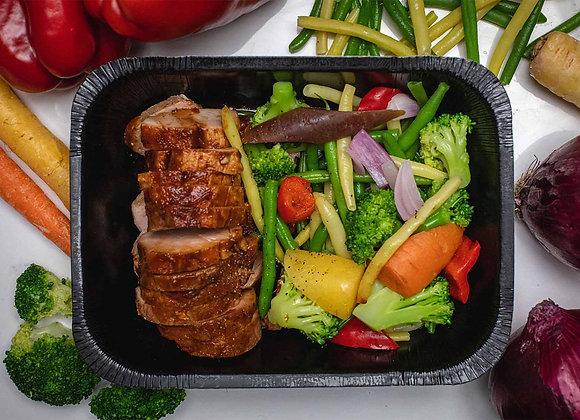 Filet de Porc avec ''L'ostie d'sauce''