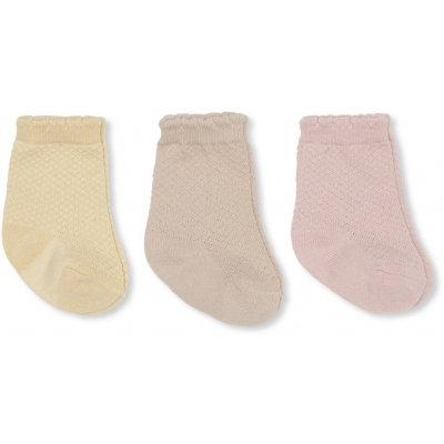 3-PACK POINTELLE SOCKS