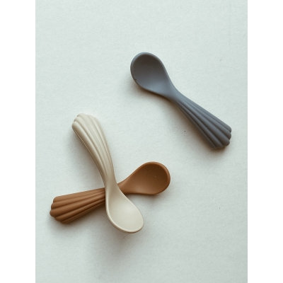 3 PACK SHELL SPOON SILICONE