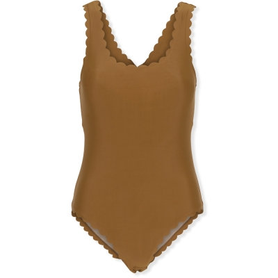 SCALLOP MOMMY SWIMSUIT