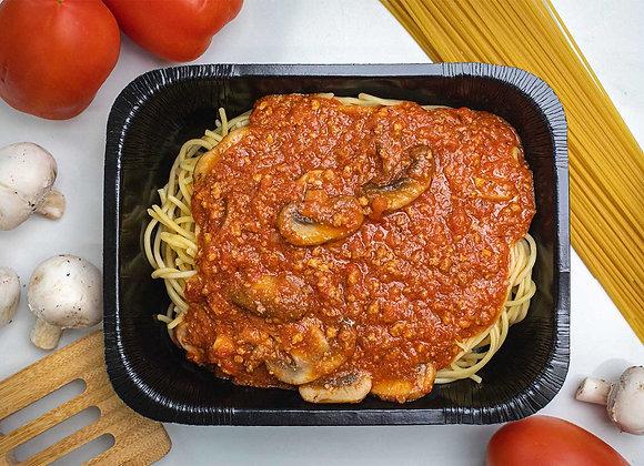 Spaghetti Bolognaise aux Champignons