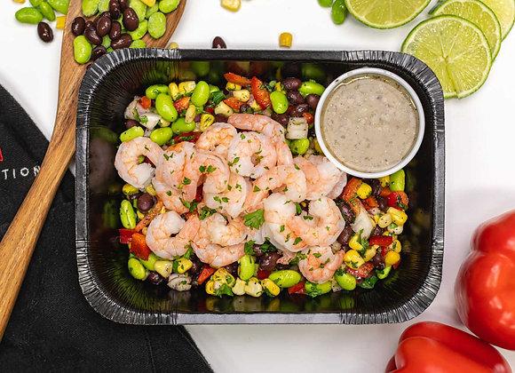 Salade Mexicaine aux Crevettes