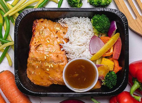 Filet de Saumon Orange & Gingembre