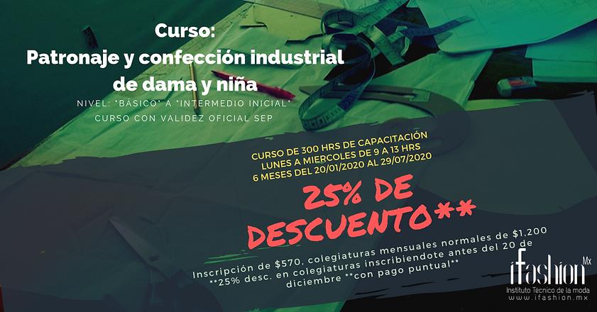 Cursos de Patronaje y Confección, iFashion Instituto, en CDMX. Cd. de México, DF