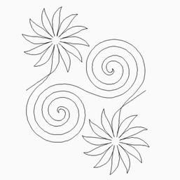 Flowers and Spirals