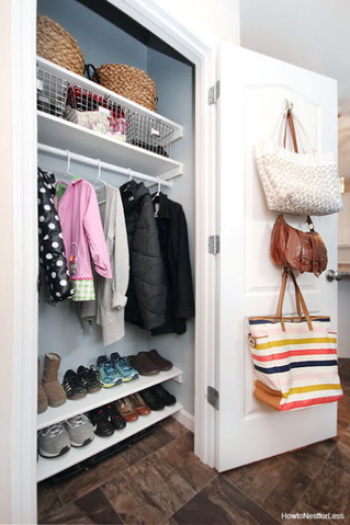 حلول وافكار بسيطة لترتيبخزانةالملابس