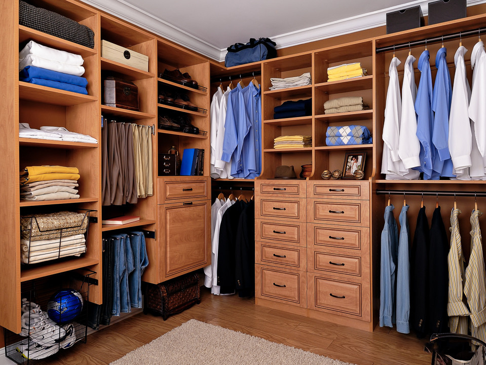 استايلات غرف ملابس