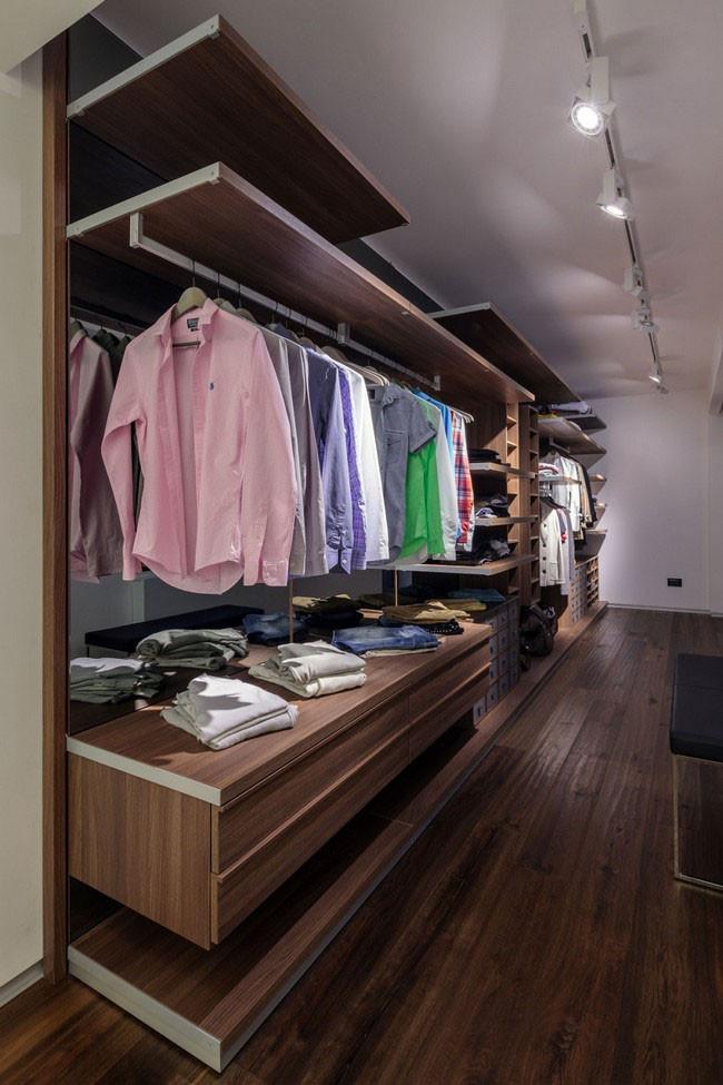 تصميم غرفة ملابس
