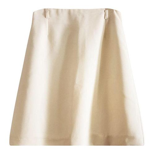 Mini jupe couleur crème taille 34