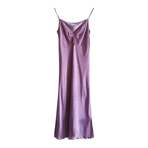 Robe pastel à fines bretelles taille 40
