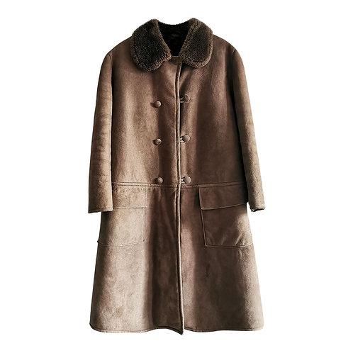 Manteau peau lainée T40