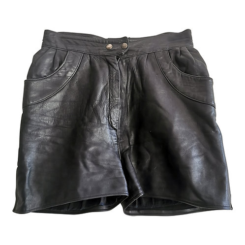 Short en cuir Taille 38