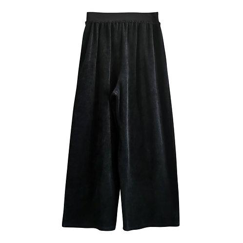 Pantalon en velours noir Taille 38
