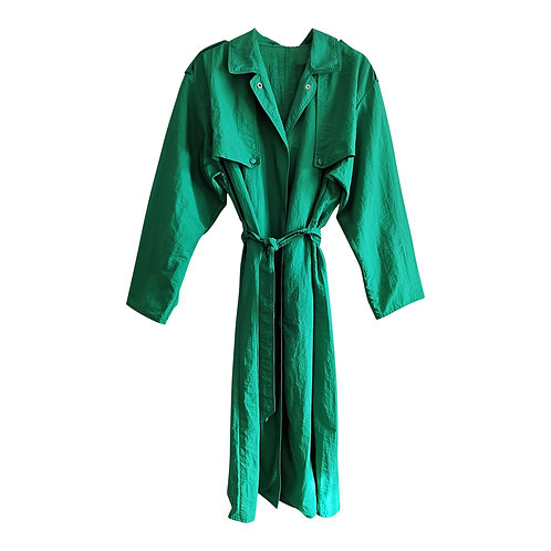 Trench vert Taille L/XL