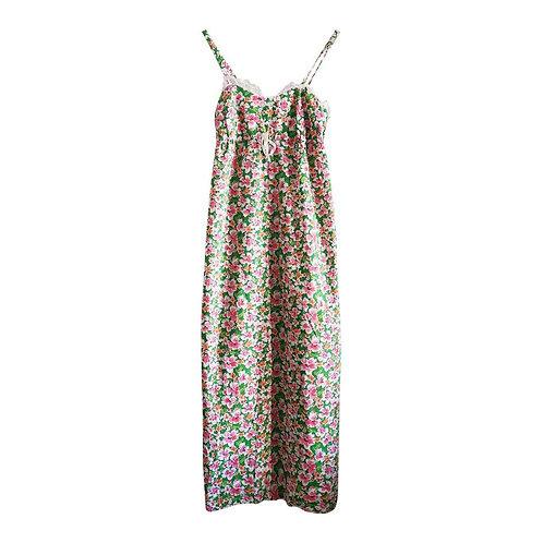 Robe fleurie à bretelles Taille 36-38