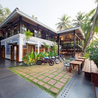Royal Enfield Garage Cafe_Goa