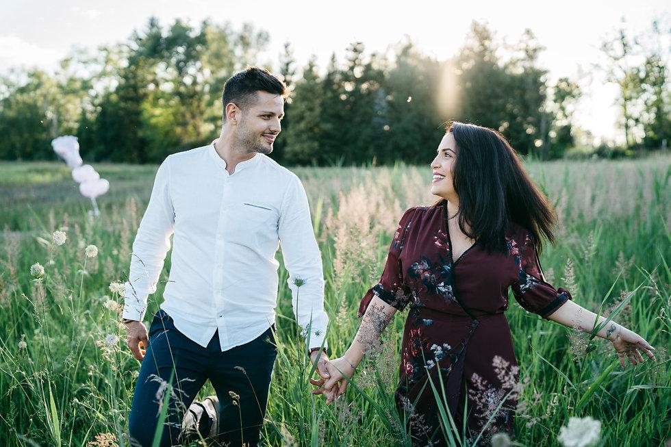 Lidia - und Demis - Engagement Shooting-