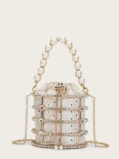 """""""Pear Glam"""" Handbag"""