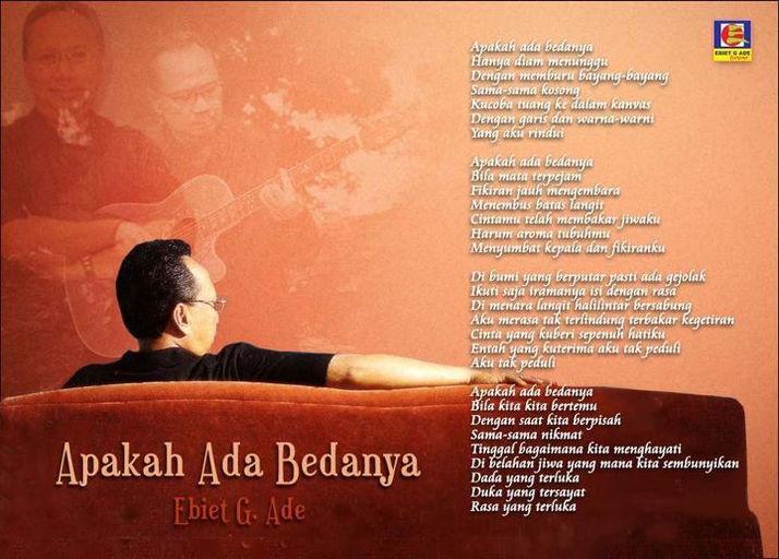 Album Ebiet G Ade Bahasa Langit