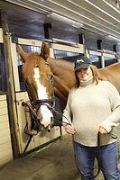 veterinarian horse doctor christina mcrae