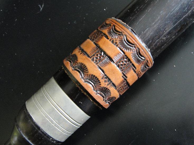 Basket Weave - Brown, Medium 3.75 circumference