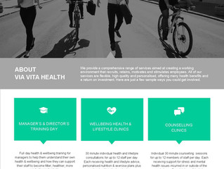 Summer Corporate Health & Wellbeing Offers 2016